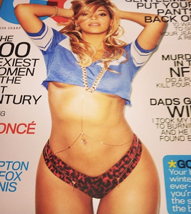 Beyonce GQ cover - Large - February 2013