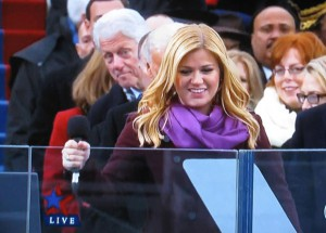 Bill Clinton at Inauguration