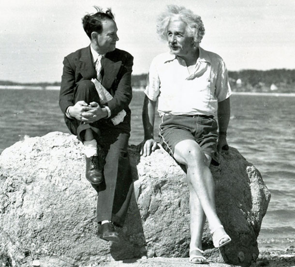 Rothman-and-Einstein-posing-in-1939