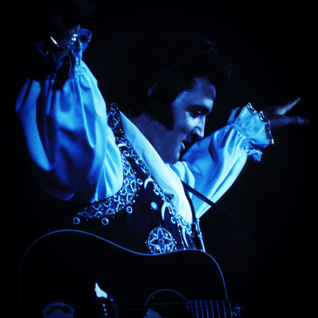 Elvis Presley in Concert at the Nassau Coliseum in Uniondale - July 19, 1975