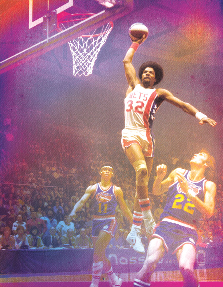 """Julius """"Dr. J"""" Erving and the Nets' Glory Days on Long Island"""