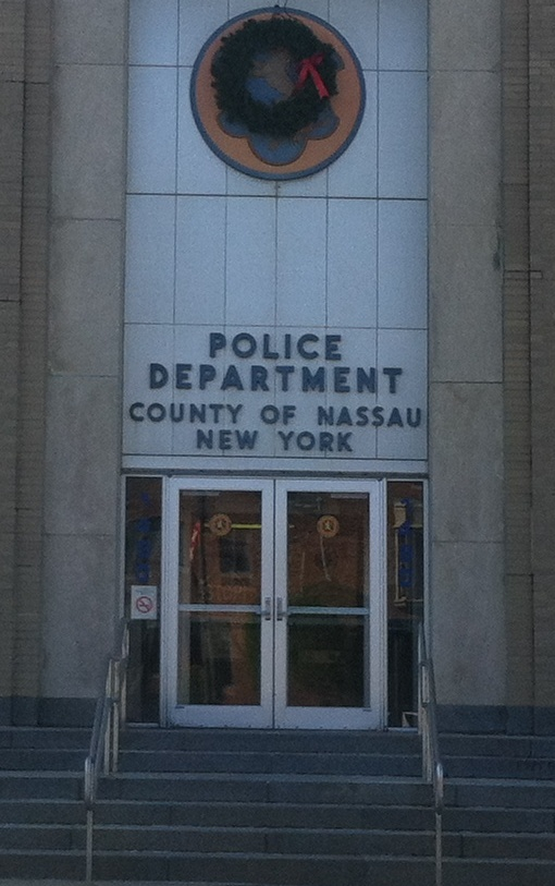 Nassau County police headquarters in Mineola.