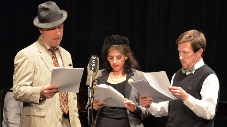The Play Troupe of Port Washington team up with WCWP FM to air two classic radio plays from the '40s.