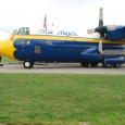 "Captain Dusty Cook, pilot of the U.S. Navy Blue Angels C-130 Hercules dubbed ""Fat Albert."""