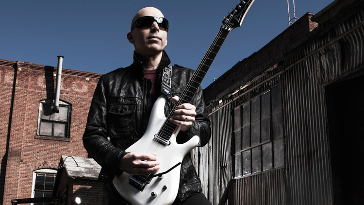 Carle Place native, extraterrestrial guitar god-sorcerer, Joe Satriani.