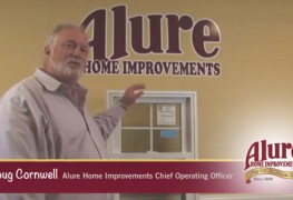 "Alure Home Improvements' video segment ""Alure's 60-Second Fix with Chief Operating Officer Doug Cornwell: How To Clean Vinyl Tilt Windows"" will have your widows sparkling clean in no time flat."