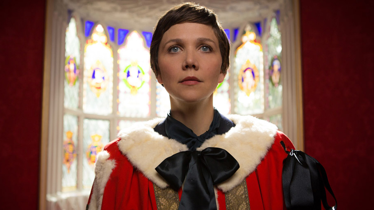 Actress Maggie Gyllenhaal stars in SundanceTV's The Honorable Woman.