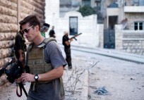 "James Foley, Syria, 2012. The American journalist was beheaded by Islamic militants ISIS in a video posted on YouTube Aug. 19, 2014. (Photo by Manu Brabo, courtesy of FreeJamesFoley.org and ""Find James Foley"" Facebook page)"