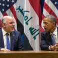 President Barack Obama and Prime Minister Haider al-Abadi of Iraq. (White House Photo by Pete Souza)