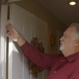 "Doug Cornwell, chief operating officer at Alure Home Improvements, instructs viewers about how to properly adjust their front doors on a recent episode of Alure's ""60 Second Fix."" Worth checking out!"