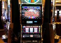Video Lottery Terminals, like these, may be coming to Medford, if the Suffolk OTB gets its way.
