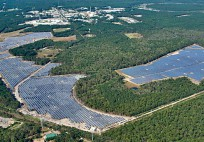The 200-acre Long Island Solar Fa