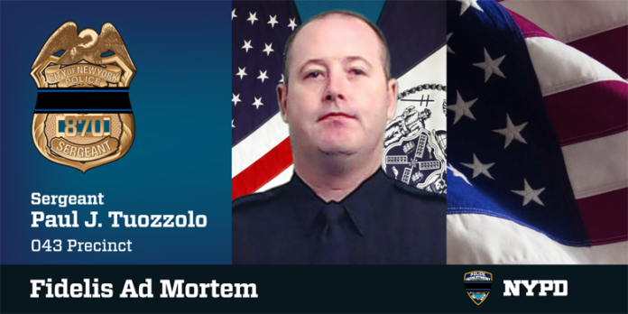 NYPD Sgt. Paul Tuozzolo Huntington